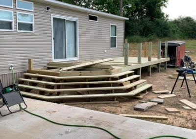 deck and patio contractor in diberville